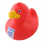 England Red Bath Duck