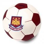 West Ham Ceramic Football Money Box