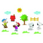 Snoopy Wall Figures 14pcs