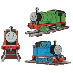 Thomas Wall Figure 3pcs